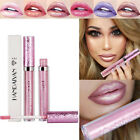 6 Colors Waterproof Shimmer Liquid Lip Gloss Long Lasting Lipstick Makeup Tool