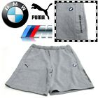 PUMA BMW M Series Mens Motorsport Shorts Grey Formula 1 F1 Sports Track Casual