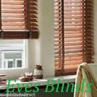 MADE TO MEASURE BURNISHED DARK OAK 35MM WOODEN VENETIAN BLIND WITH TAPES