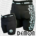 DEMON Womens Padded Snowboard Impact Shorts - Black - Flex Force - S10FFBLK