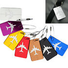 Kyпить HOT Luggage Tag Aluminum Alloy Air Plane Travel Suitcase Name Address ID Label на еВаy.соm