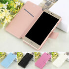 Luxury Magnetic Flip Leather Slim Wallet Case Cover For Huawei P8/P9 Lite 2017