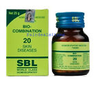 SBL Homeopathic Bio-Combination No.20 for Skin diseases