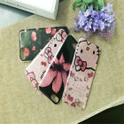 New Cute Hello kity Pattern Soft TPU Slim Back Case Cover for iPhone 6/ 7/ 8Plus