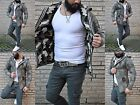 Wild Fashion Style Military Camouflage Assassin Hood Long Jacket Street Army
