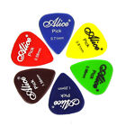 Alice 100pcs Medium 0.71mm 0.96mm Transparent Glossy Guitar Picks Plectrums PC
