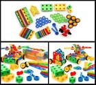 100 Blocks Set Building Toys Educational Fun STEM Toy for Ages 3 Years and Up