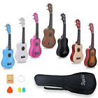 21 inch Soprano Ukulele Apelila Acoustic Mini Guitar Music Instrument + Gig Bag <br/> 3500+Sold✔ Free Accessories✔ Easy to learn✔ Best Gift✔