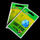 New 10X Fishing Fluorescent Lightstick Light Night Float Clip On Dark Glow Stick
