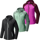 "New Womens Columbia ""Green Lake"" Omni-Shield Hooded Softshell Jacket"