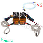 MK8 Dual Extruder Dual Nozzles print heads for MakerBot Prusa I3 ect 3D printer