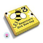 Personalised Busy BUMBLE BEE 1st 2nd 3rd Birthday Party Bag Favour Chocolates