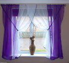 HAND MADE SHORT LONG CURTAIN AMAZING 12 COLOURS VOILE VARIOUS SIZES ! FOR YOU