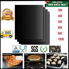 10X BBQ Grill Mat Non-Stick Reusable Resistant Barbecue Bake Sheet Cooking Meat
