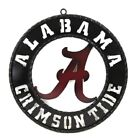 """12"""" COLLEGE SCHOOL METAL WALL HOME DECOR OFFICIAL LICENSED FOOTBALL TEAM SIGN"""