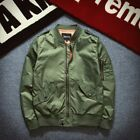 MA1 Men Leisure Jacket Zipper Air Army Flight Bomber Outwear New Fashion Coats