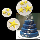 Silicone Star Shape Fondant Mould Chocolate Cup Cake Topper