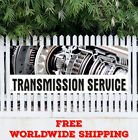 Transmission Service Advertising Vinyl Banner Flag Sign Car Auto Repair Tranny