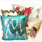 Sequin Cushion cover Teal Gold Black Green Red Silver Champagne Gold White Pink