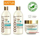 KATIVA Coconut Hair Mask & Shampoo with Organic Coconut Oil