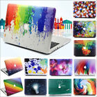 """Colorful Paint Print Matte Hard Case Skin for MacBook 12""""Air Pro 11"""" 13""""15""""+2016"""