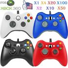 LOT 1-50   Microsoft -Game Wireless/ Wired Controller for Xbox 360 Wholesale! E1