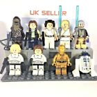 STAR WARS minifigures A New Hope Han Solo Chewbacca Leia Luke R2-D2 Custom Lego £0.99 GBP