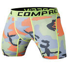 Men Sport Training Tights Compression Base Layer Shorts Quick-dry Pants Trousers