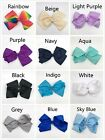BRAND NEW 8 INCH BIG BOWS BOUTIQUE HAIR CLIP FOR GIRL WOMAN LADY ACCESSORIE