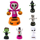 Solar Shaking Dancing Halloween Ghost Swinging Animated Bobble Car Accessories