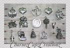 14pc Wedding/Marriage/Love Silver Charm Set Lot Collection/ Jewelry/Bride, Groom