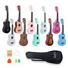 Kyпить Apelila Soprano Ukulele 21 Acoustic Hawaii Guitar Folk String Music Instrument на еВаy.соm