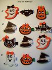 Set of 3 Halloween Felt Hair Clips..Will Lots of Bling. You Pick Your Set