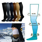 Unisex Womens Knee-High Compression Socks Closed Toe Leg support Stockings
