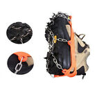 1Pc Non-slip Shoes Cover Ski Ice Snow Climbing 8 Teeth Claws Crampons Loud