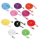 3M 10ft Noodle USB Sync Data Charging Charger Cable Cord For iPhone 5/5S 6S/Plus