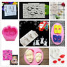 Halloween XMAS Cake Border Silicone Molds Cupcake Decoration Tool Biscuit Moulds