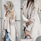 Love Stitch Chunky Cable Knit Wrap Sweater
