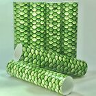 Green Fish Scale Candle Covers / Socket Sleeves Set of 6 Chandelier Tubes