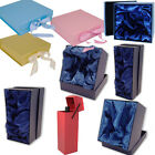 Assorted Quality Presentation Birthday Christmas Bottle Vase Glasses Gift Boxes