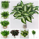 Fashion Artificial Floral Home Decoration High Simulation Willow Begonia Plant