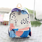 Fashion Backpack Ulzzang Printed Cartoon Backpack Canvas Student Shoulder bags