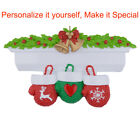 MAXORA Personalized Ornament Mantel Gloves of 3 4 5 6 7 8 9 10 Christmas Gift