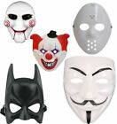 Halloween Red White EVA Cosplay Clown Circus Scary Mask Unisex Ghost Party Mask