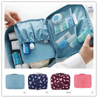 Women Ladies Expandable Travel Hanging Wash Bag Toiletry Organizer Make Up Bag
