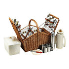 Picnic at Ascot Unisex  Huntsman Basket for Four with Coffee Service