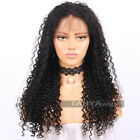 Brazilian Deep Curly 360 Lace Frontal Wigs Remy Hair Wig For African Americans
