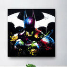 Art - Patrice Colorful Batman Canvas Print Oil Painting Picture Home Wall Art Unframed
