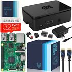 Raspberry Pi 3 Essentials Kit - On-board WiFi and Bluetoot... Free Shipping, NEW