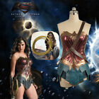 [ In Stock ] New Price Wonder Woman Cosplay Costume Diana Prince Dress + Lasso